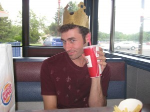James Deen Burger King