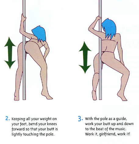 Poledance Technique Strip tease