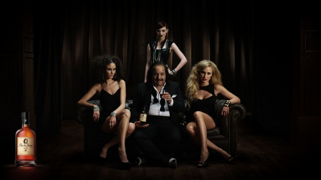 Ron Jeremy rhum bottle