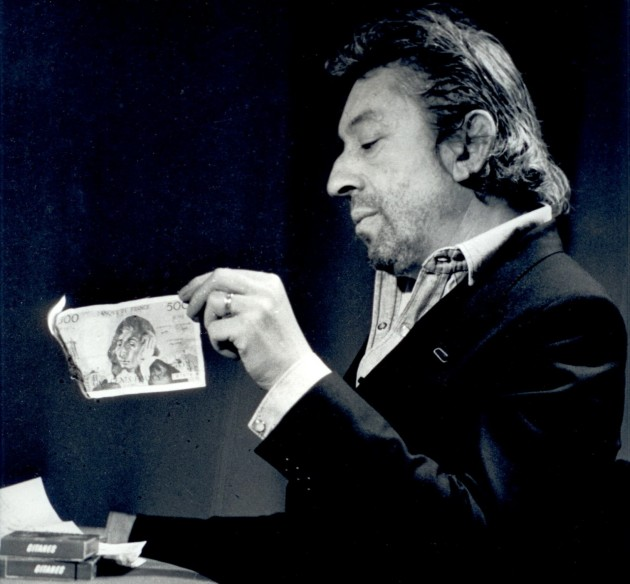 Serge Gainsbourg Billet 500francs