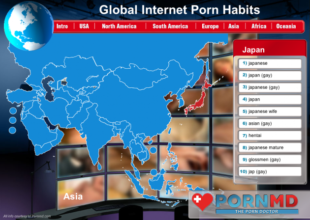 Global Internet Porn Habits Infographic 5