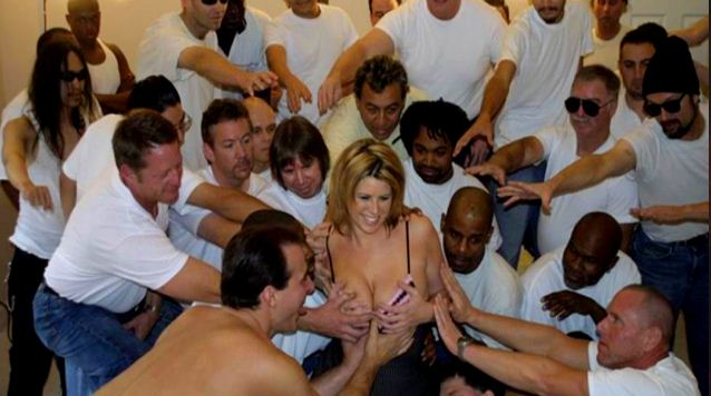 Lisa Sparks Gang Bang Interracial