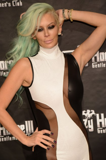 Former adult film actress Jenna Jameson celebrates her birthday at the Crazy Horse III in Las Vegas