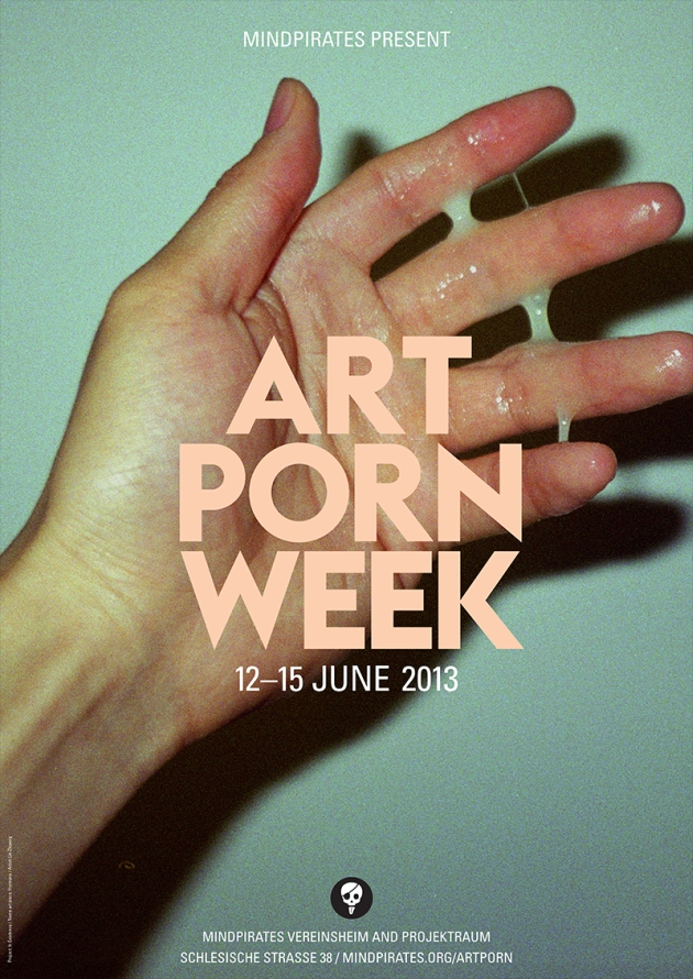 art porn week poster mindpirates