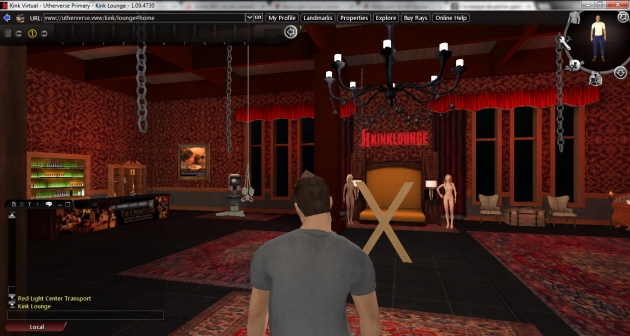 Kink Virtual lounge VIP