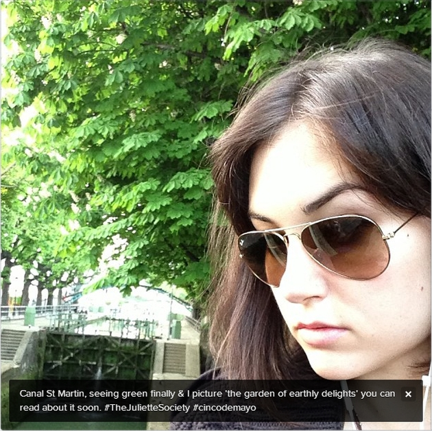 Sasha Grey Instagram Paris