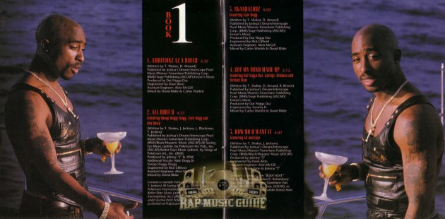 2Pac-booklet