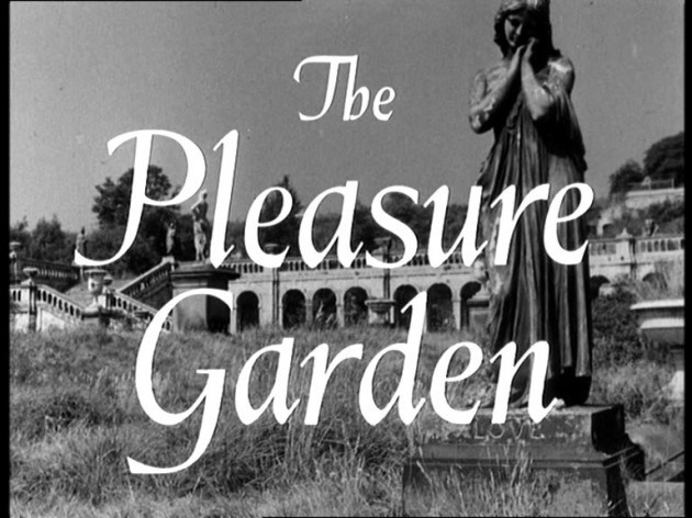 The pleasure Garden film