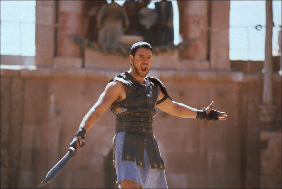 "Film ""Gladiator"" In United States In May 2000"