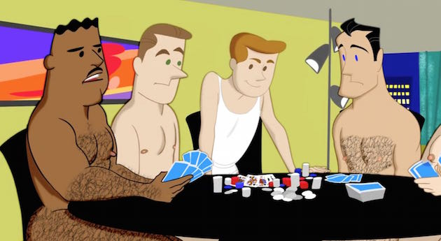 Animan-Poker-Game-Bareback-Orgy-Gay-Sex-Big-Hairy-Asses