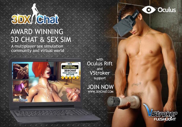 oculus rift 3D sex chat sex sim