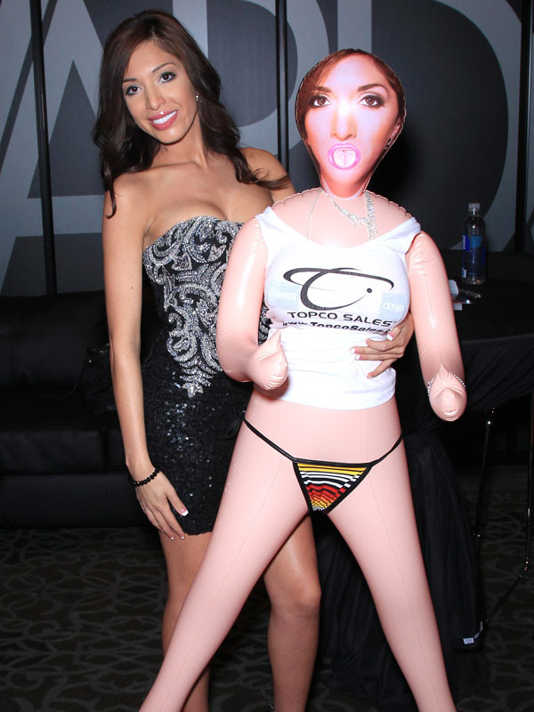 Farrah Abraham appears at the 2015 AVN Adult Entertainment Expo