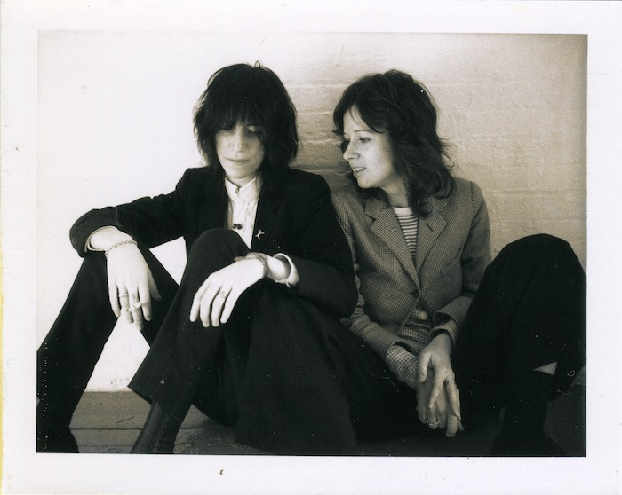 Patti Smith and Judy Linn, 1974