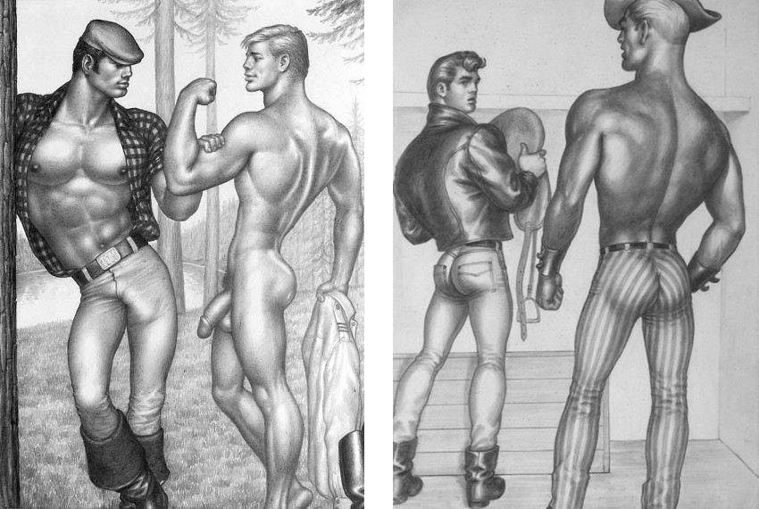 Untitled, XXL Series / The Saddle Thief III, 1958, Tom of Finland